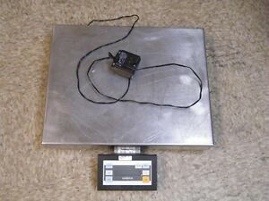 Sartorius Scale Model Eb60feg i 60kg 60 Kg W Digital Read 20 x15 Platform