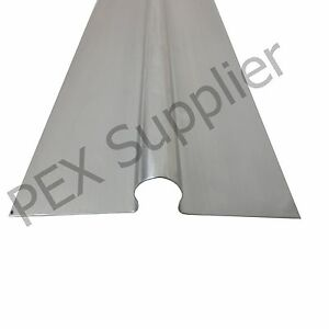 100 Piece 4 Ft Omega Aluminum Heat Transfer Plates Compatible With 1 2 Pex