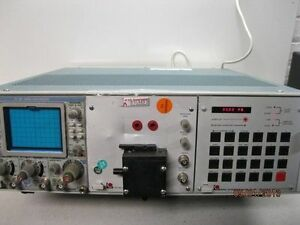 Tektronix Tm506 Oscilloscope With Sc504 80mhz Td 9901 Time Domain Reflectometer