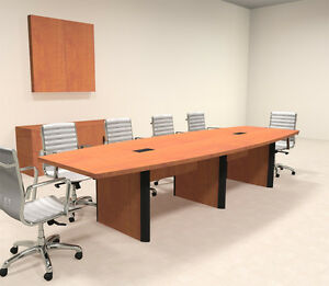 Modern Boat Shape 12 Feet Conference Table of con cp6