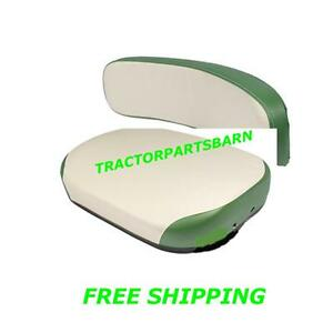 Oliver New Seat Cushion Backrest White Green 1600 1800 1900 660 770 880 990
