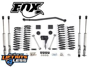 Zone Offroad 4 Lift Kit W fox Shocks For 2007 2018 Jeep Jku Wrangler Unlimited