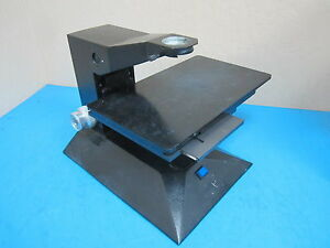 Used Microscope Base Scientific Instrument Co Beta Model Sn 2338