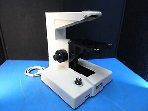Nikon Microscope Base With Power Supply And Table Mount