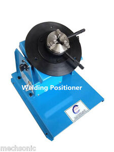 2 18rpm 10kg Light Duty Welding Turntable Positioner With 65mm Chuck 110v 220v S