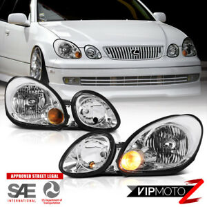 For 1998 2005 Lexus Gs300 gs400 factory Style Front Left right Headlights Lamp