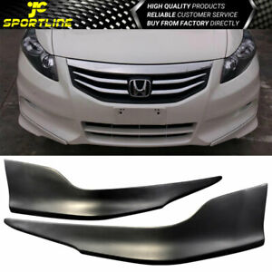 Fit 11 12 Honda Accord 4dr Sedan Oe Style Polypropylene Front Bumper Lip Spoiler