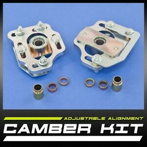 New Pair Left Right Front Camber Caster Kit 2 50 Mustang 79 89