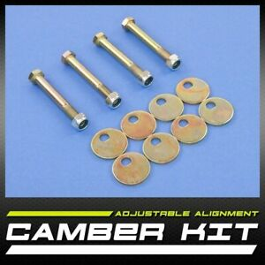 New Pair Left Right Front Camber Caster Kit 2 00