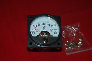 Ac 0 15a Analog Ammeter Panel Amp Current Meter So45 Directly Connect