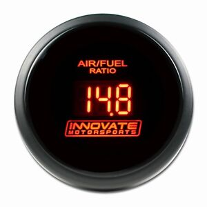 Innovate 3796 Motorsports Lc 2 Red Db Gauge Kit Wide Band Display 52mm
