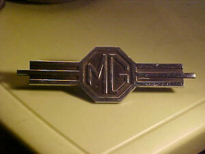 1940 s 1960 s mg Trunk Or Dash Emblem Nice Condition N o s
