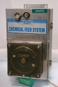 Knight Chemical Feed System Peristaltic Pump 424599