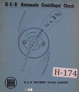 Heb Op320 Copying Tracer Lathe Kinematic Circuit operating Instructions Manual