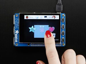 Adafruit Pitft Plus 320x240 2 8 Touchscreen Capacitive Lcd Display Raspberry Pi
