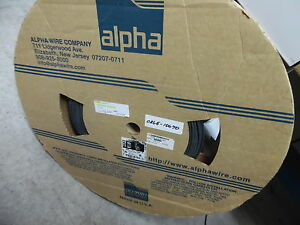 Alpha Wire Fit 221 1 8 Black Heat Shrink Tubing Approximately 90 Foot Roll