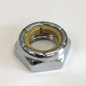 Chrome Power Steering Pump Pulley Nut Chevrolet Chevy Sbc Bbc 350 327 283 454 Gm