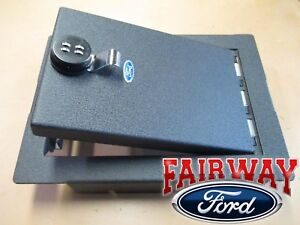 09 Thru 14 F 150 Oem Ford Parts Console Security Vault Safe With Floor Shifter New