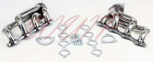 Performance Stainless Steel Exhaust Headers Manifold 02 13 Chevy Gmc Truck