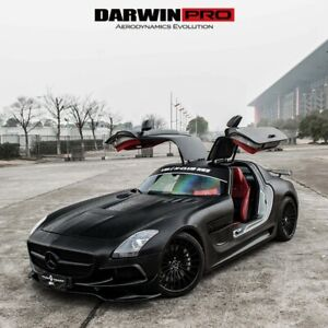 Darwinpro Mercedes Sls Amg Black Series Wide Body Full Kit Portion Carbon Fiber