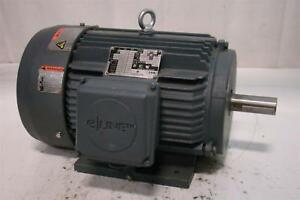 Emerson 7 5hp 1740rpm 230 460v 3ph Elt7e2d