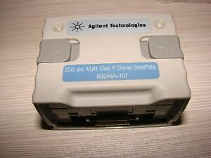 Keysight Agilent Wirescope Pro Gg45 Arj45 F Cat 7a Adapter Smartprobe N2644a 107
