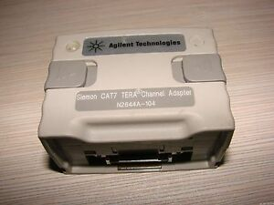 Keysight Agilent Wirescope Pro Cat7 Tera Channel Adapter Smartprobe N2644a 104