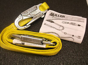 New Miller By Honeywell Restraint Lanyard 6 Ft 310 Lb Nylon Free Ship d24