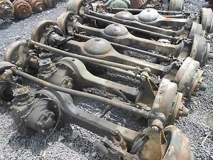 Military M35 Rockwell 2 5 Ton Top Loader Complete Front Axle Used