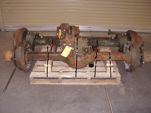 Military M35 Rockwell 2 5 Ton Top Loader Complete Axle Set Used Front