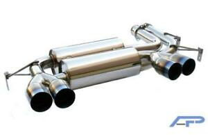 Agency Power ap e46m3 170 Ss Exhaust With Titanium Tips 2001 2005 Bmw M3