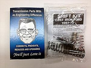 1967 1972 Transgo Shift Kit Ford Mercury With Fmx Automatic Transmission Sk3 67