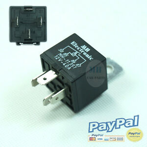 10 Pcs Relay Rele 4 Pin 12v Real 40amp For Europe And Usa Market High Quality