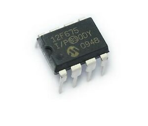 50pcs Pic12f675 Pic12f675 i p 12f675 Microcontroller New 100 Original