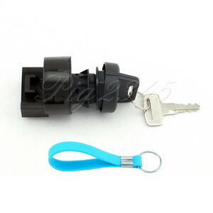 Ignition Key Switch For Polaris ATV Sportsman 500 HO 2002 2003 Free Keychain NEW