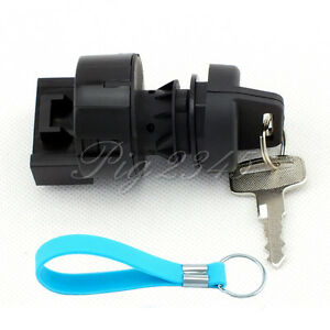 Ignition Key Switch For Polaris ATV Sportsman 500 2002 2003 2004 Free Keychain