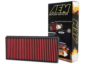 Aem 28 20857 Stock Replacement Washable Reusable Panel Air Filter made In Usa