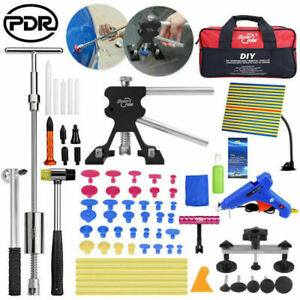 Pdr Paintless Dent Repair Tools Hail Lifter Slide Hammer Puller Bridge Box Kits
