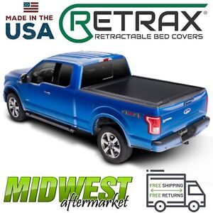 Retrax Retraxone Mx Retractable Tonneau Cover Fits 2015 2018 Ford F 150 5 7 Bed