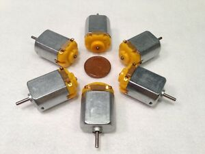 6v 130 Dc Hobby Mini Motor 12500 Rpm With Varistor For Digital Products 6 Pcs