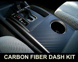Fits Honda Accord 08 12 Carbon Fiber Interior Dashboard Dash Trim Kit Parts Free