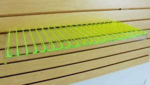 Slat Wall Shelf For 10 Ml Bottles e cig Essential Oils Etc