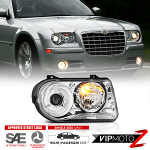 For 05 10 Chrysler 300c Factory Style Projector Headlight Right Passenger Side