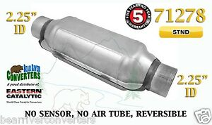 71278 Eastern Universal Catalytic Converter Standard 2 25 2 1 4 Pipe 12 Body