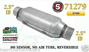 71279 Eastern Universal Catalytic Converter Standard 2 5 2 1 2 Pipe 12 Body