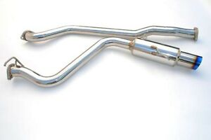 Invidia Exhaust N1 Catback Racing Single Ti Tip For 08 12 Subaru Impreza Wrx 4dr