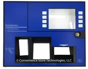 Gilbarco Veeder root Advantage Epp Crind Dispenser Door blue