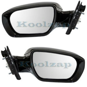 Power Non heat Folding Mirror Left Right Side Set Pair For 13 15 Santa Fe Sport