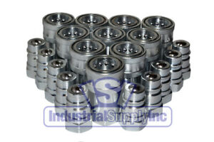 10 pk 1 2 Npt Agricultural Hydraulic Quick Coupler