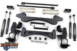 Zone Offroad C5 6 Suspension Lift Kit For 2001 2010 Chevy Gmc 2500hd 2wd 2500